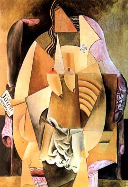 毕加索油画欣赏高清图片
