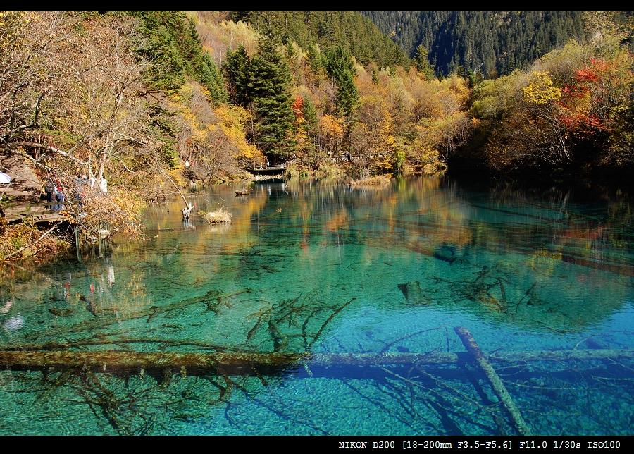 四川广安秋天风景图片