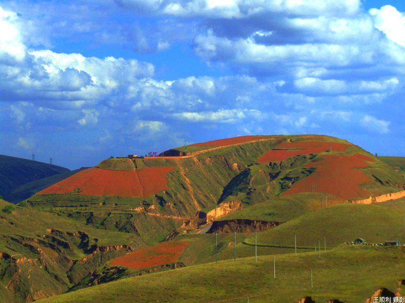 黄土高原的秋天分外妖娆