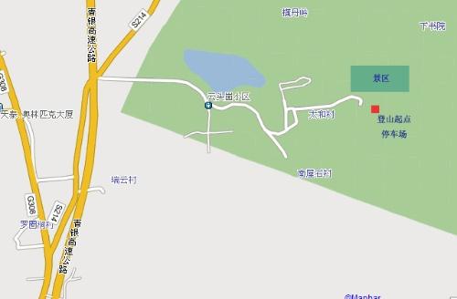 近郊游 青岛城阳霸王寨景区 (免费景点) 景点属于崂山山系,登山,呼吸