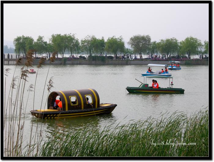无锡最大的免费公园--蠡湖风景区(4)--西堤