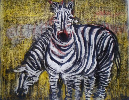 动物穿衣服童画