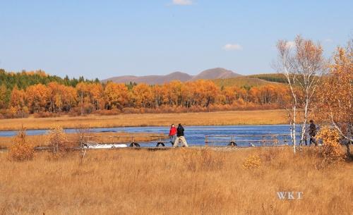 秋日的风景画——塞罕坝