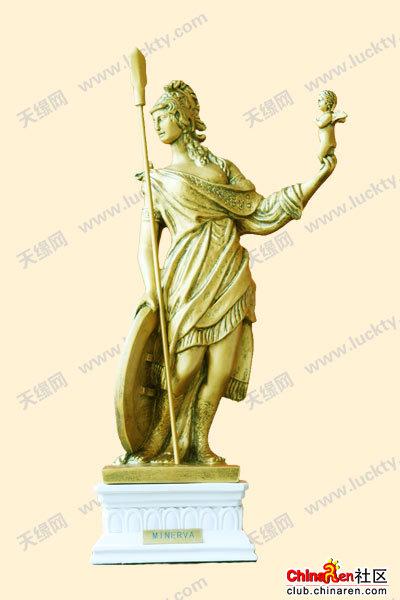 水瓶女神欧式雕塑