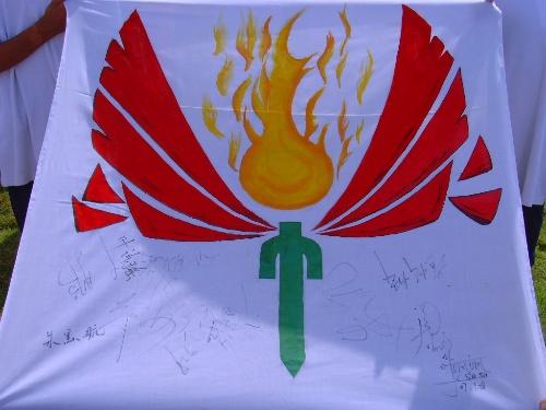 班级旗帜设计图片大全