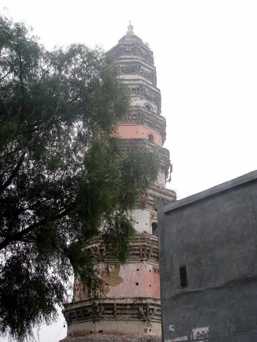 大报恩寺琉璃宝塔被破坏图片