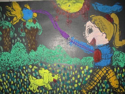 儿童手工制作风筝蜗牛