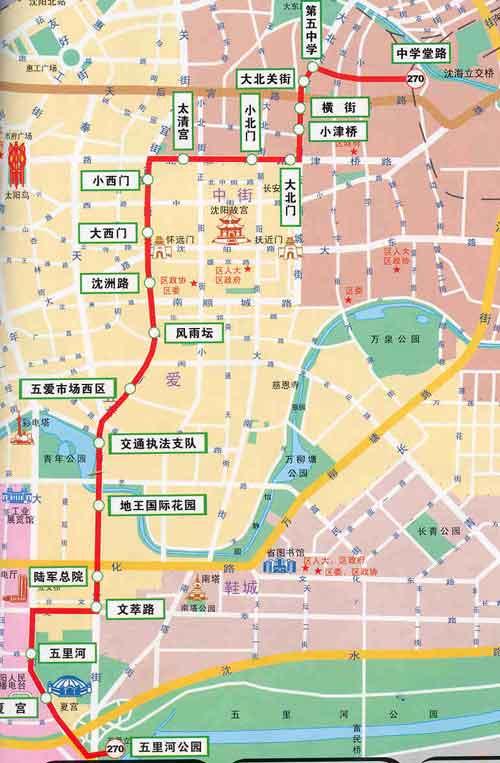 西北关社区地图