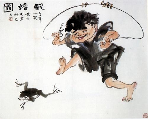 当代著名画家和作家诗人黄永玉作品欣赏