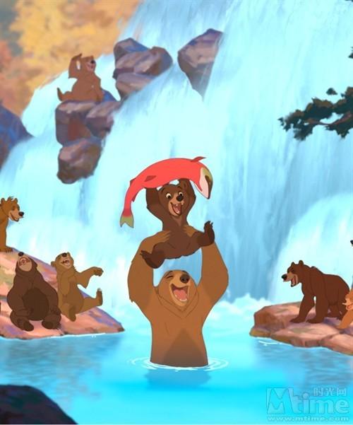 可爱的小熊啊.