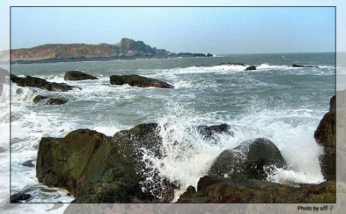 甫田盆屿岛海边图片