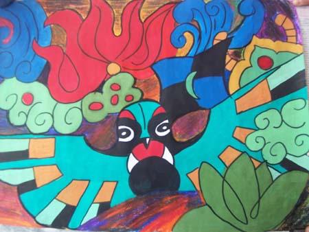 六年级美术素材分享展示