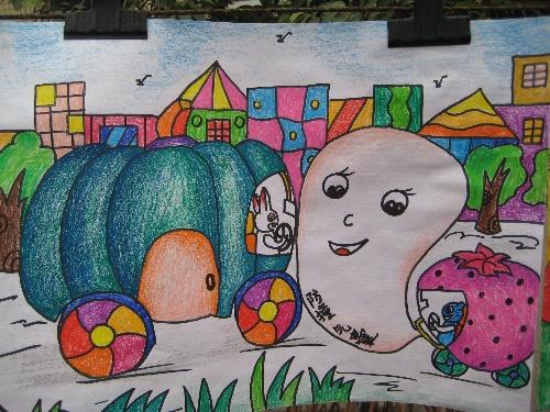 海洋环保创意儿童画