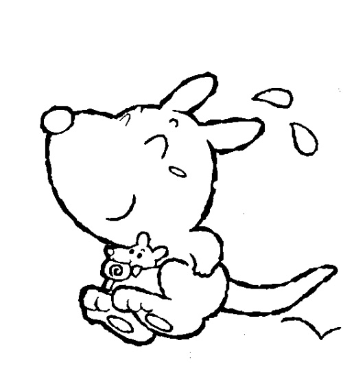 (宝宝素材)宝宝涂涂色素材&加&超级可爱的卡通素材-小