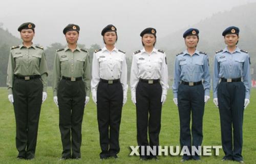 军人夏常服图片素材
