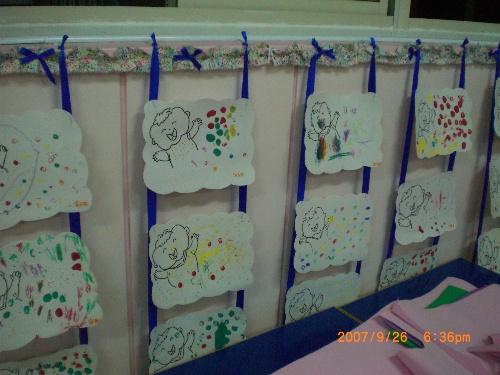 幼儿园照片边框设计图片展示图片