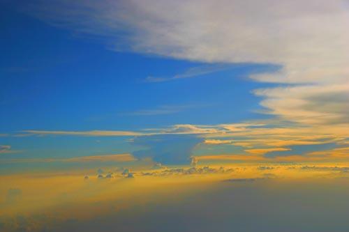 壮阔蓝天背景素材