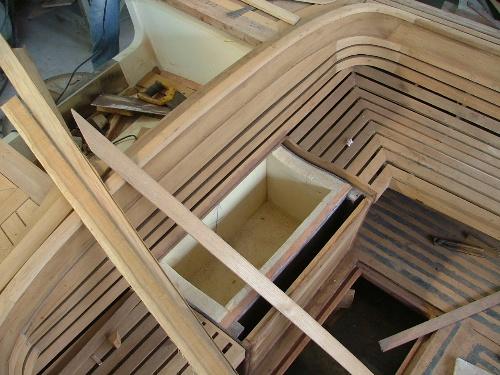 木板拼装帆船步骤图