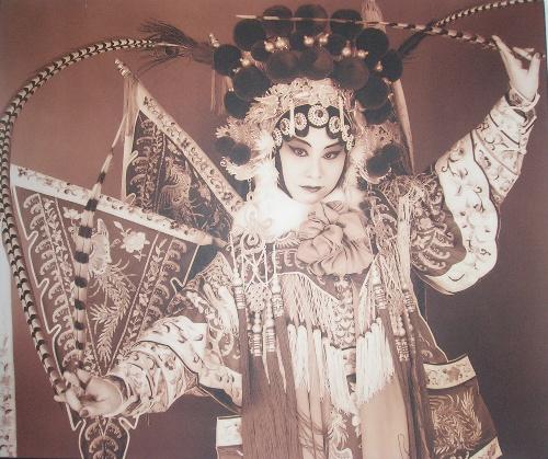 京剧艺术照图片