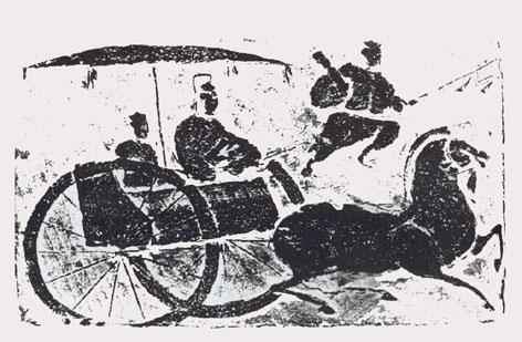 汉代车马动物图案