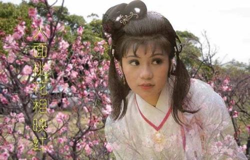 金庸笔下黄蓉,小龙女原来是50年代的女明星