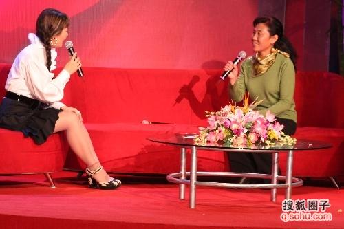 本溪三女士接受王小骞的专访 - 山城--本溪 - 同