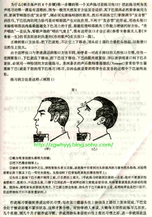 林俊卿咽音练声法八个步骤(纯净版视频加图文)