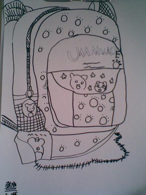 儿童画 简笔画 手绘 线稿 600_800 竖版 竖屏