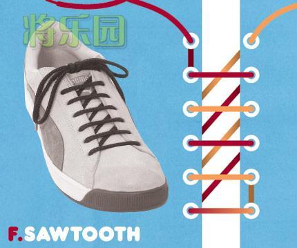 15种漂亮的穿鞋带方法