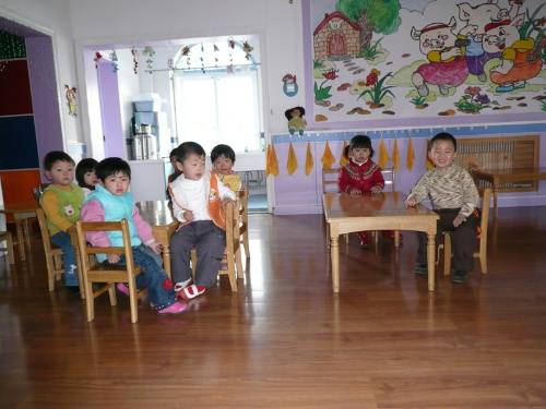 第一天上幼儿园