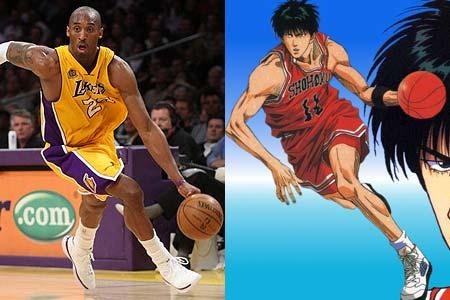 NBA球员对比灌篮高手 转图片