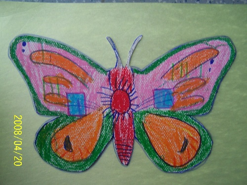 幼儿园自制蝴蝶风筝步骤图