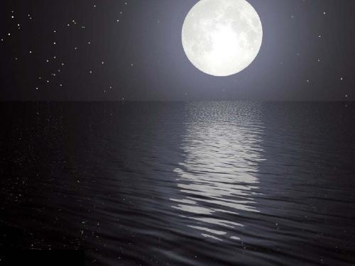 弯弯的月亮