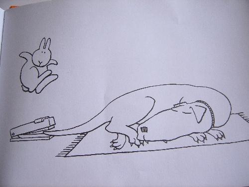 还是让我们看看书中这只惹笑的兔子吧. 分享到